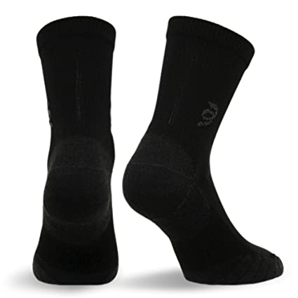 4585815eab Travelsox The Best Dress and Travel Crew Compression Socks TSC, Black, Small