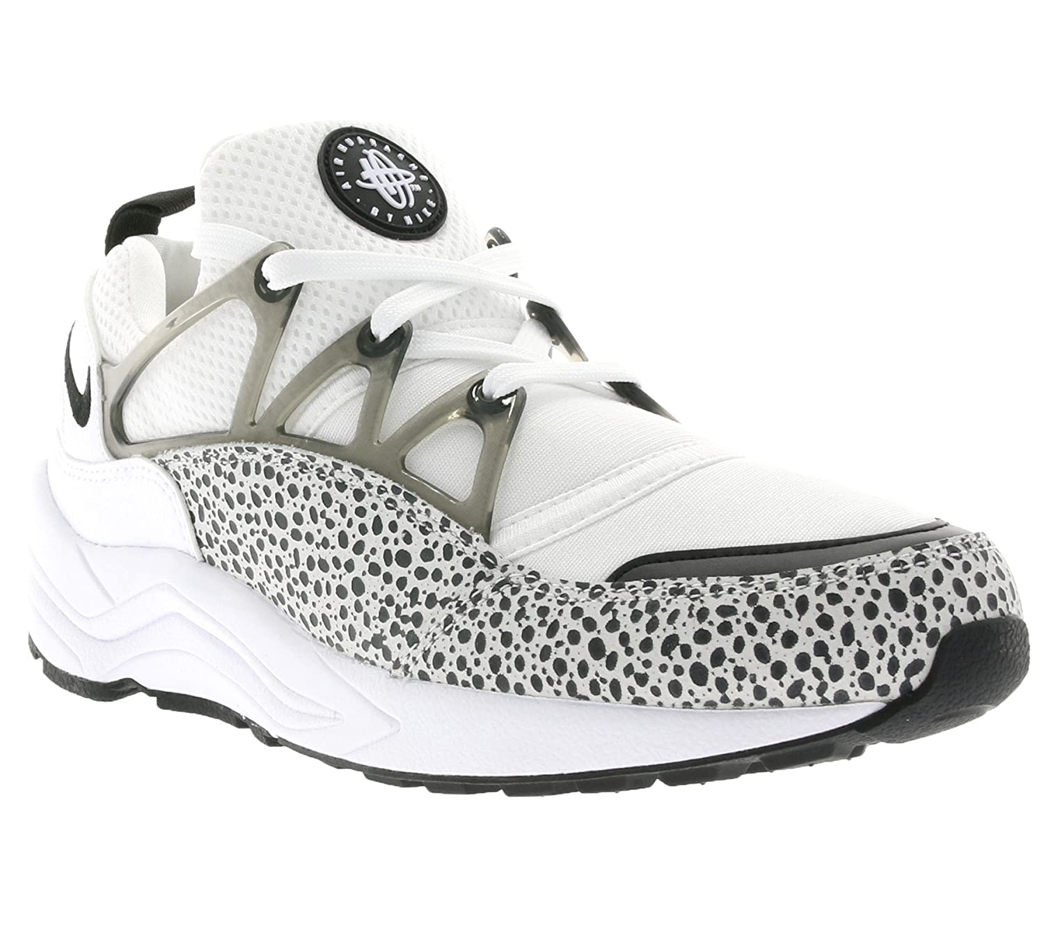 Nike Women s Air Huarache Light Running Training Shoes-White Black
