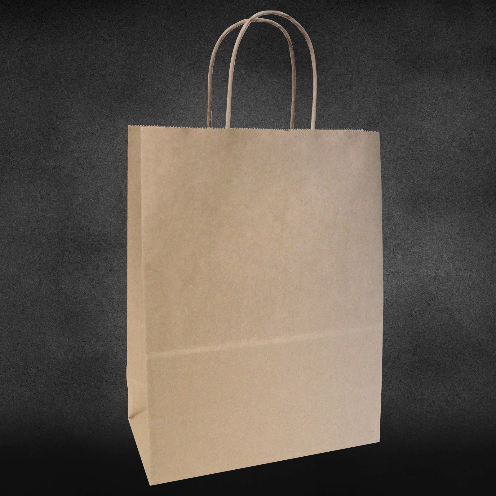 10''x5''x13'' - 100 Pcs - Bagsource Brown Kraft Paper Bags,95% POST CONSUMER MATERIALS & FSC CERTIFIED by BagSource