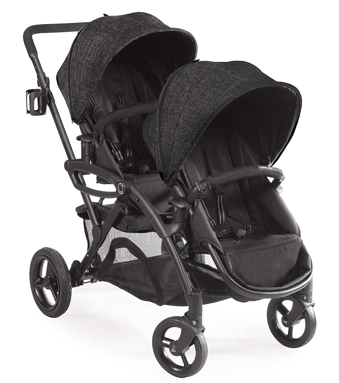 Contours options elite double toddler and baby stroller