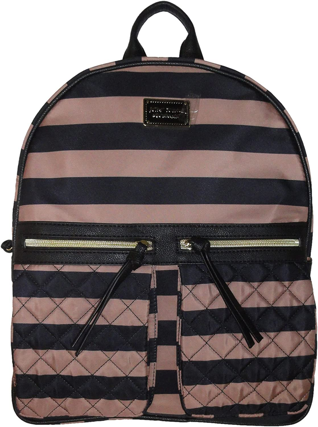 Betsey Johnson Women's Backpack Two Pocket, Spice