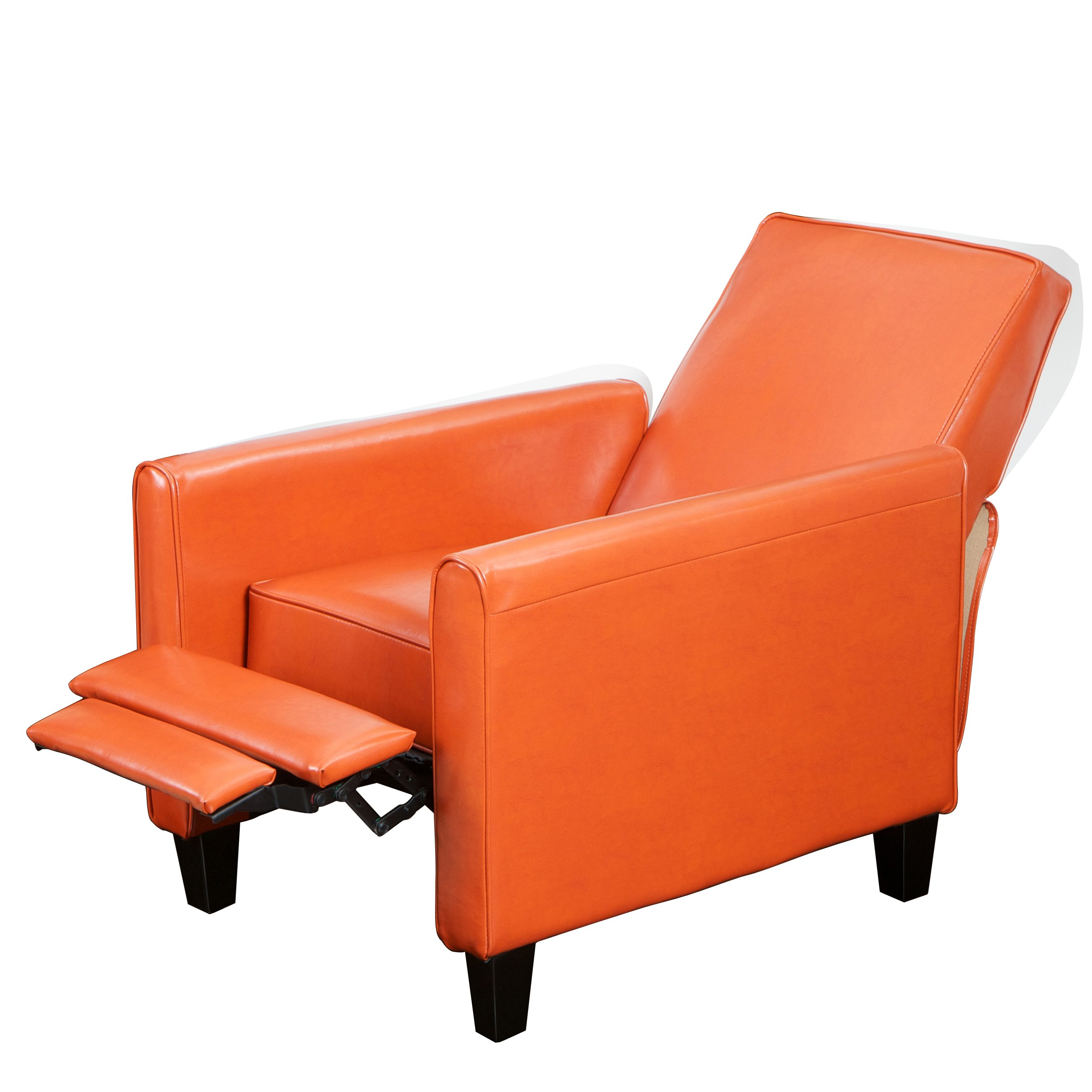 This fabulous recliner chair for small spaces is both sleek and comfortable im a traditionalist at heart but i love the funky modern look of the davis