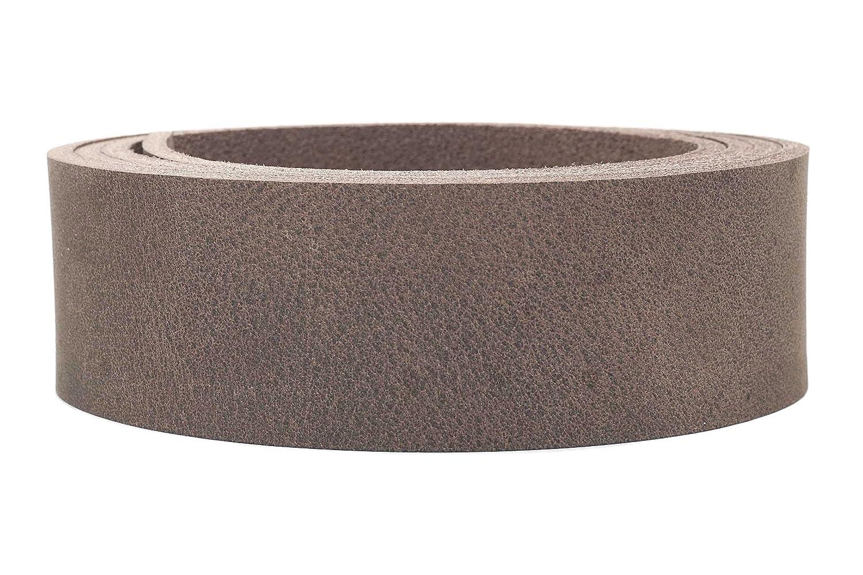 robustes B/üffelleder Wasserb/üffel Lederriemen Desert festes ca.3,6mm Breite:1.5cm Farbe:braun