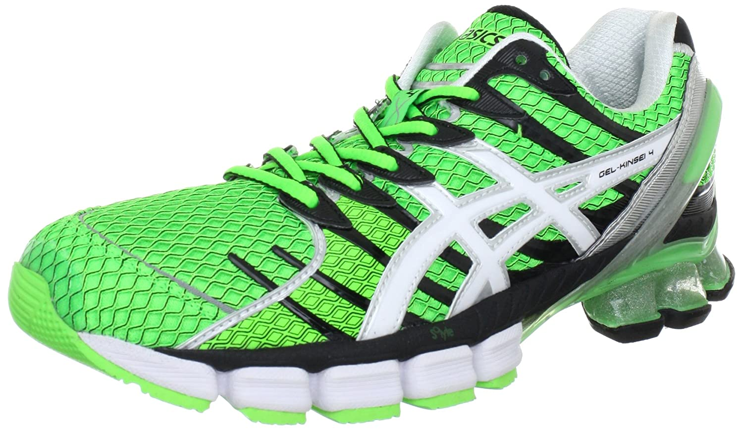 online store bcc35 2306c Amazon.com   ASICS Gel Kinsei 4 green black (Size  49) running shoes women    Road Running