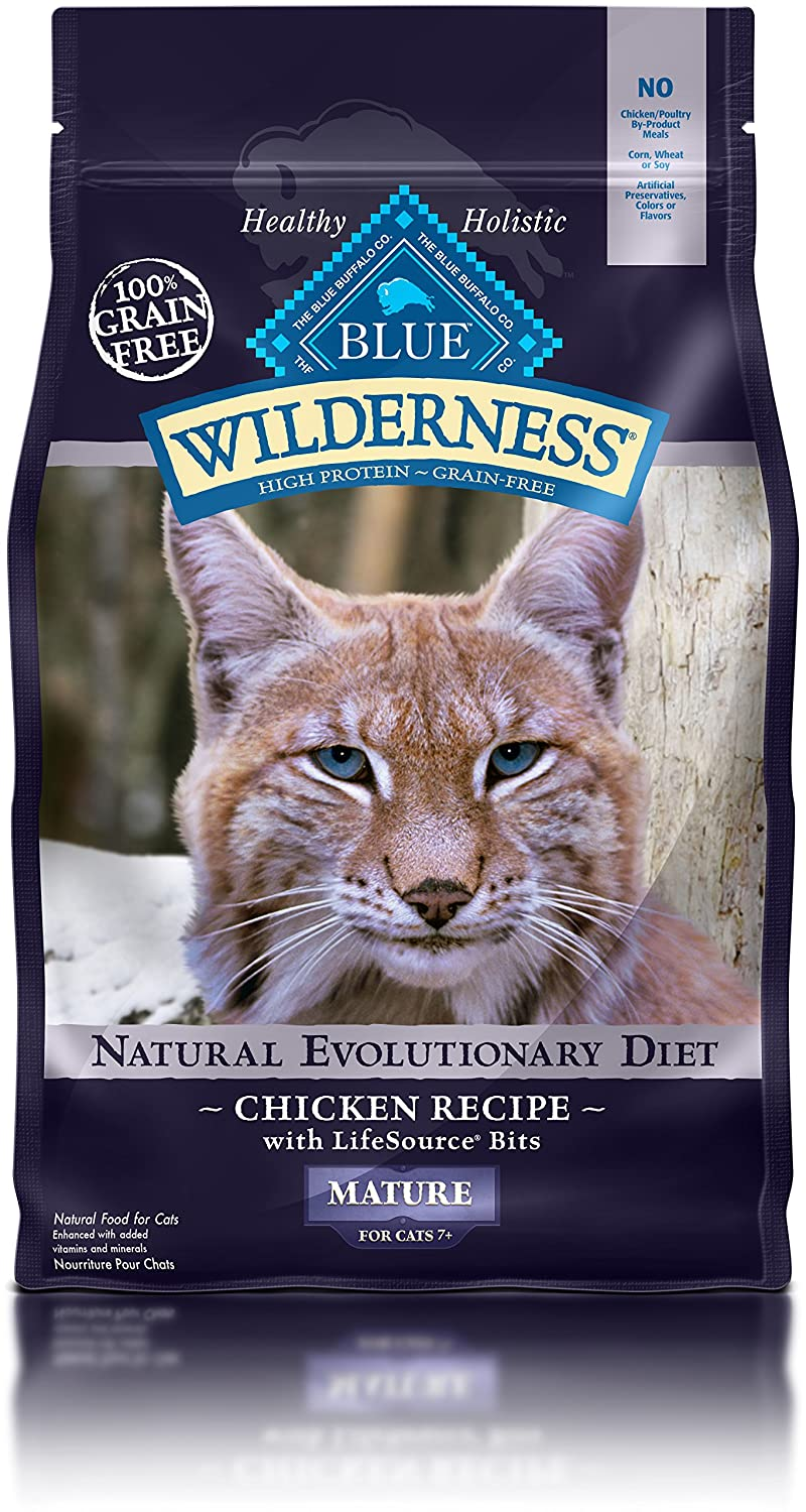Blue Buffalo Wilderness High Protein Dry Senior Cat Food