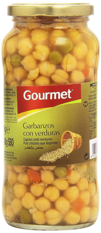 Gourmet - Garbanzo con verduras - 400 g: Amazon.es: Alimentación y ...