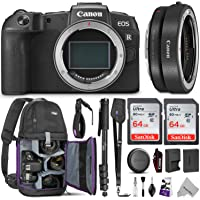 Canon EOS RP Mirrorless Digital Camera Body w/Canon Mount Adapter & Advanced Photo and Travel Bundle