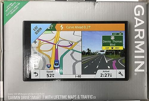 Garmin Drivesmart 7 w Lifetime Maps and Traffic EX