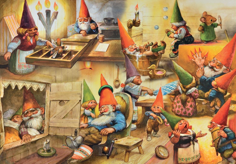 Ravensburger Fantasy Friends 35 Piece Puzzle 08608 RV08608