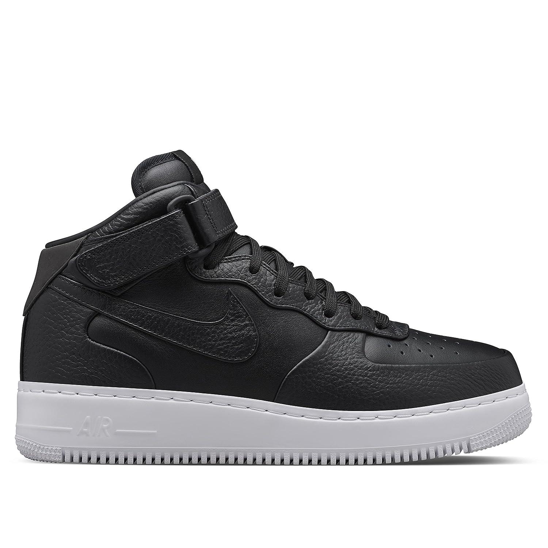 hot sales 1c7a6 d3598 Amazon.com   Nike NikeLab AIR Force 1 MID Black-White   Fitness    Cross-Training
