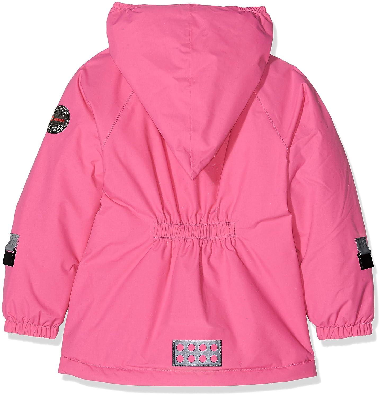 Pink 4 Yr LEGO Wear Kids /& Baby Tec Waterproof /& Windproof Fleece-Lined Snow// Ski Jacket with Reflective Detail