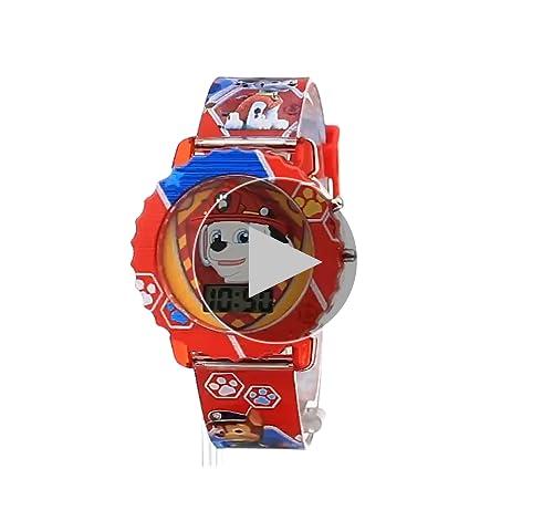 Nickelodeon Kids' PAW4016 Paw Patrol Digital Display Quartz Multi-Color Watch