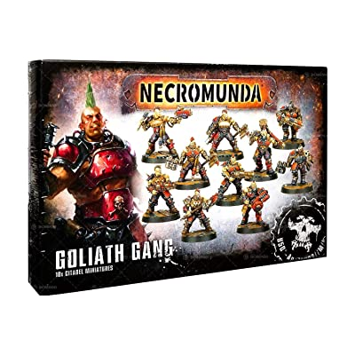 Games Workshop Necromunda: Goliath Gang: Toys & Games