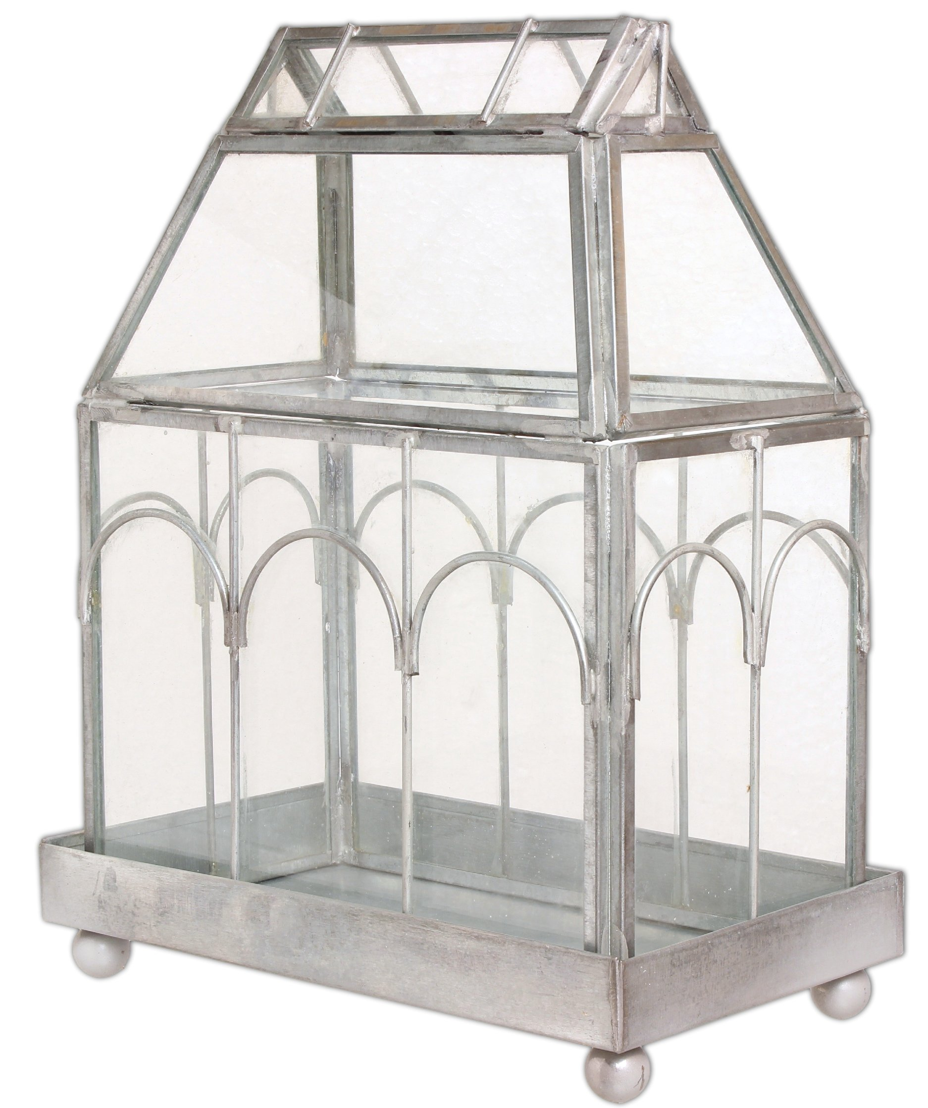 Archway Glass Terrarium by Colonial Tin Works