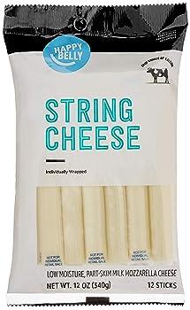 Happy Belly Mozzarella String Cheese