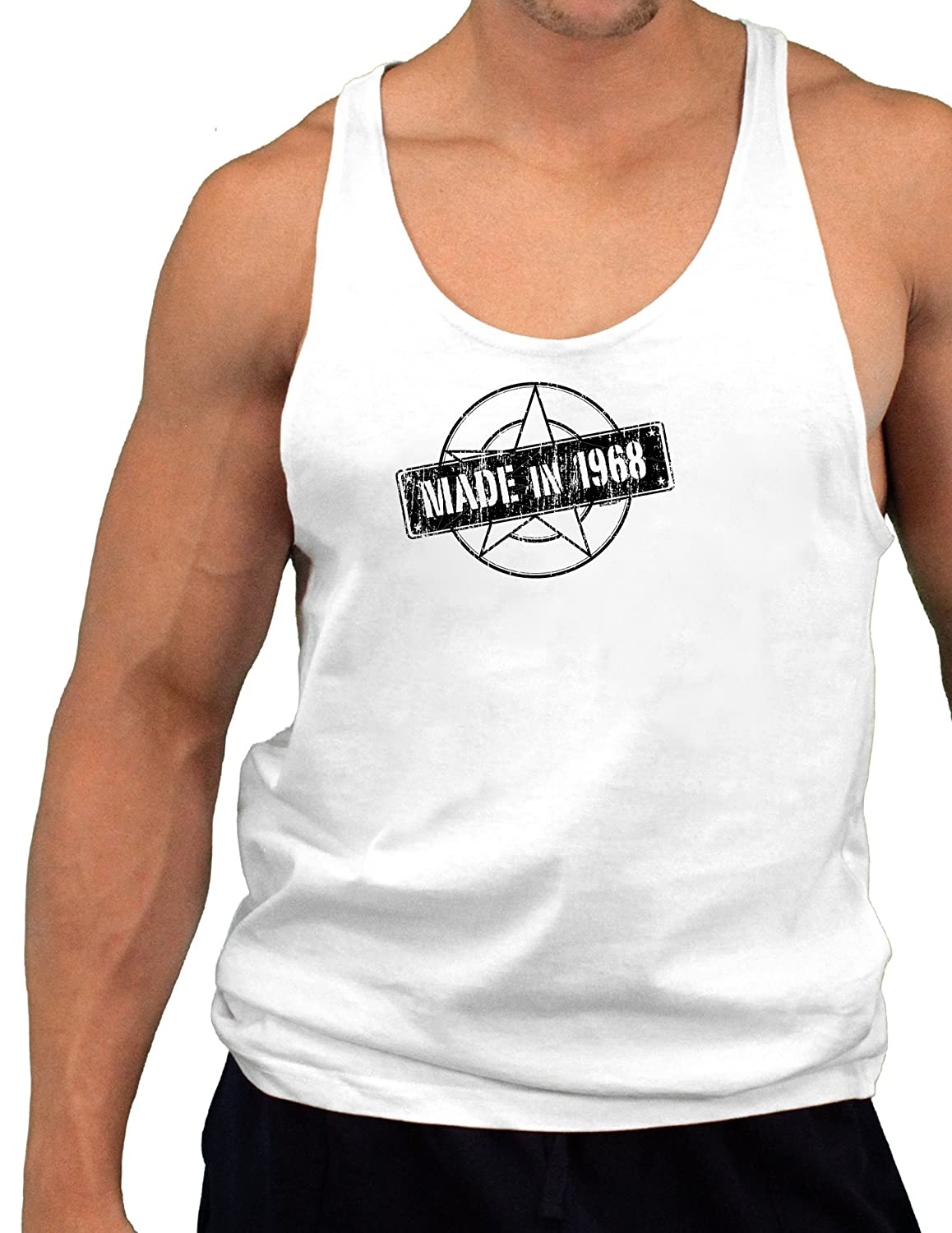 Made In 1968 Mens String Tank Top
