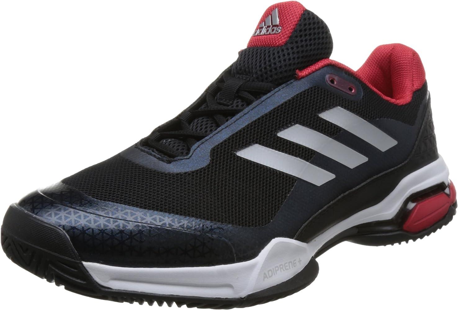 Adidas Barricade Club, Zapatillas de Soft Tenis para Hombre, Negro ...