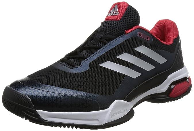 Adidas Barricade Club, Zapatillas de Soft Tenis para Hombre, Negro (Negbás/Plamat/Ftwbla 000), 46 EU: Amazon.es: Zapatos y complementos