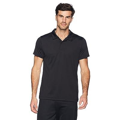 Brand - Peak Velocity Men's Aeros Performance Short Sleeve Quick-dry Athletic-Fit Polo: Clothing