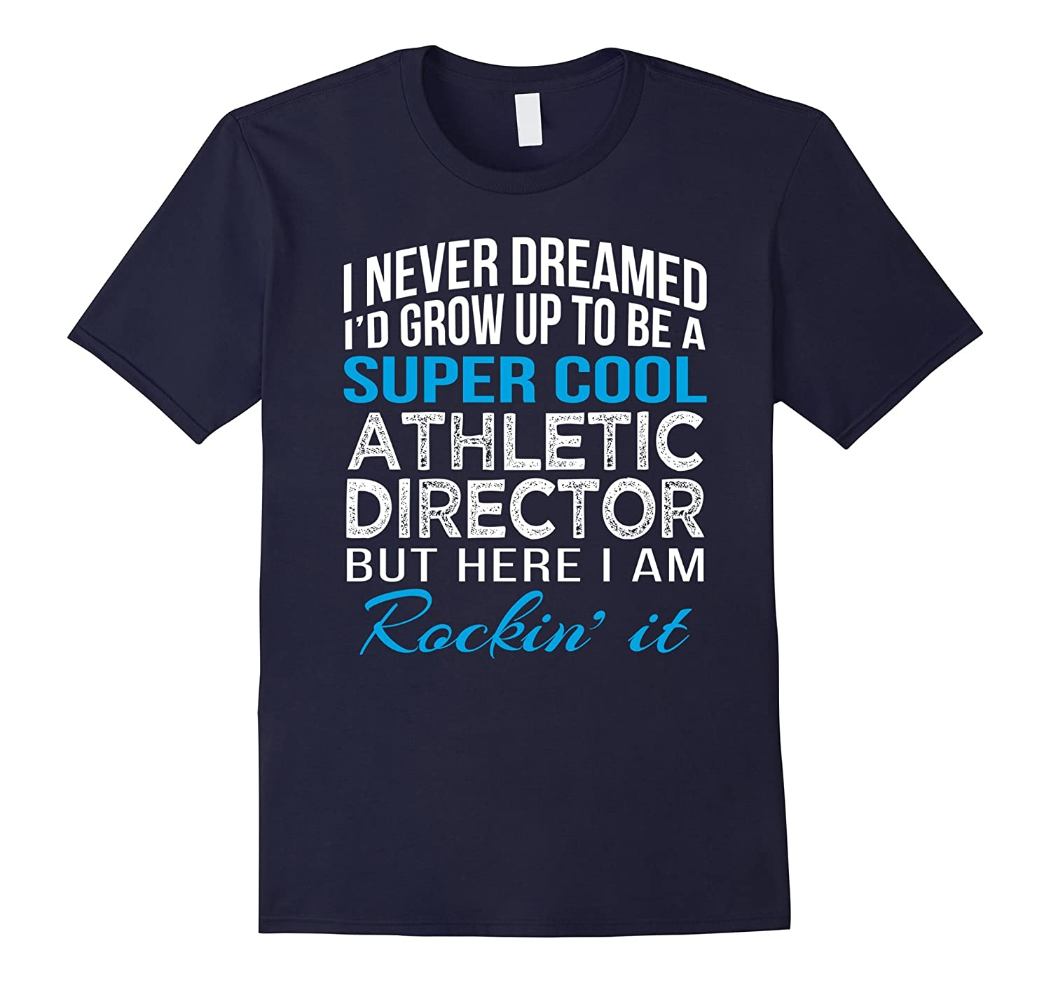 Super Cool Athletic Director Funny Gift T Shirt-Vaci