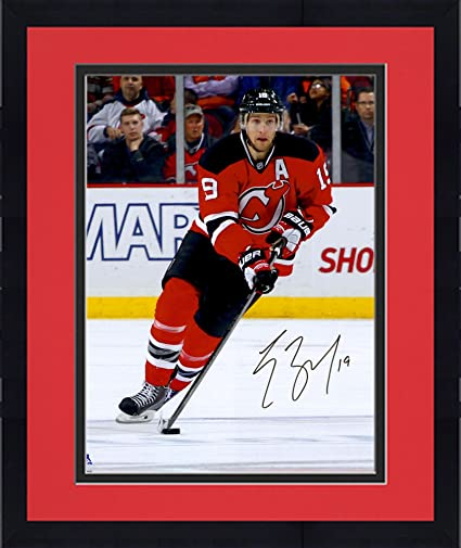 Image Unavailable. Image not available for. Color  Framed Travis Zajac New  Jersey Devils Autographed ... 637c94b89