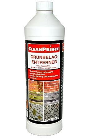 Cleanprince 1 Liter Grunbelagentferner Konzentrat Hochkonzentrat