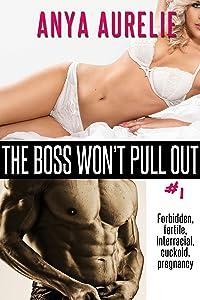 The Boss Won't Pull Out, #1 (Forbidden, fertile, interracial, cuckold, pregnancy)