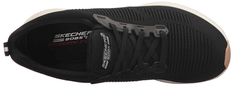 Skechers Cadre Photo-équipe Bobs, Des Chaussures Des Femmes Sans Lacets, Noir (noir), 38,5 Eu
