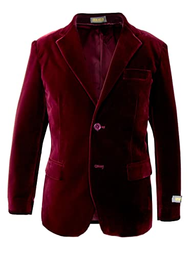 Spring Notion Big Boys' Velvet Blazer Jacket