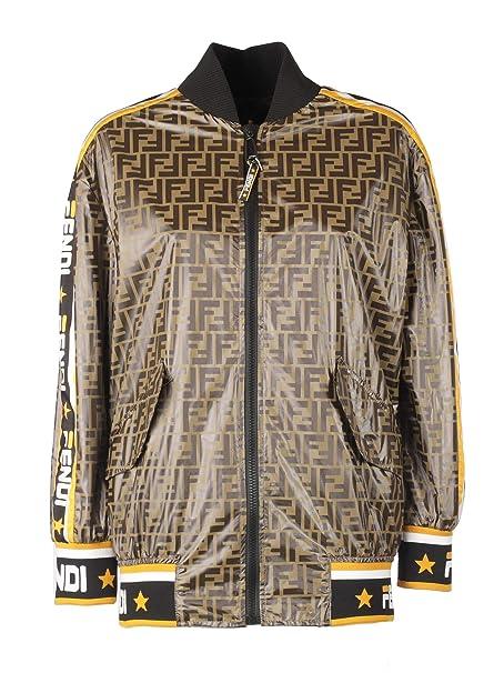 competitive price a6146 29983 Fendi Giacca Outerwear Donna Fj6873a5vhf03qe Nylon Beige ...