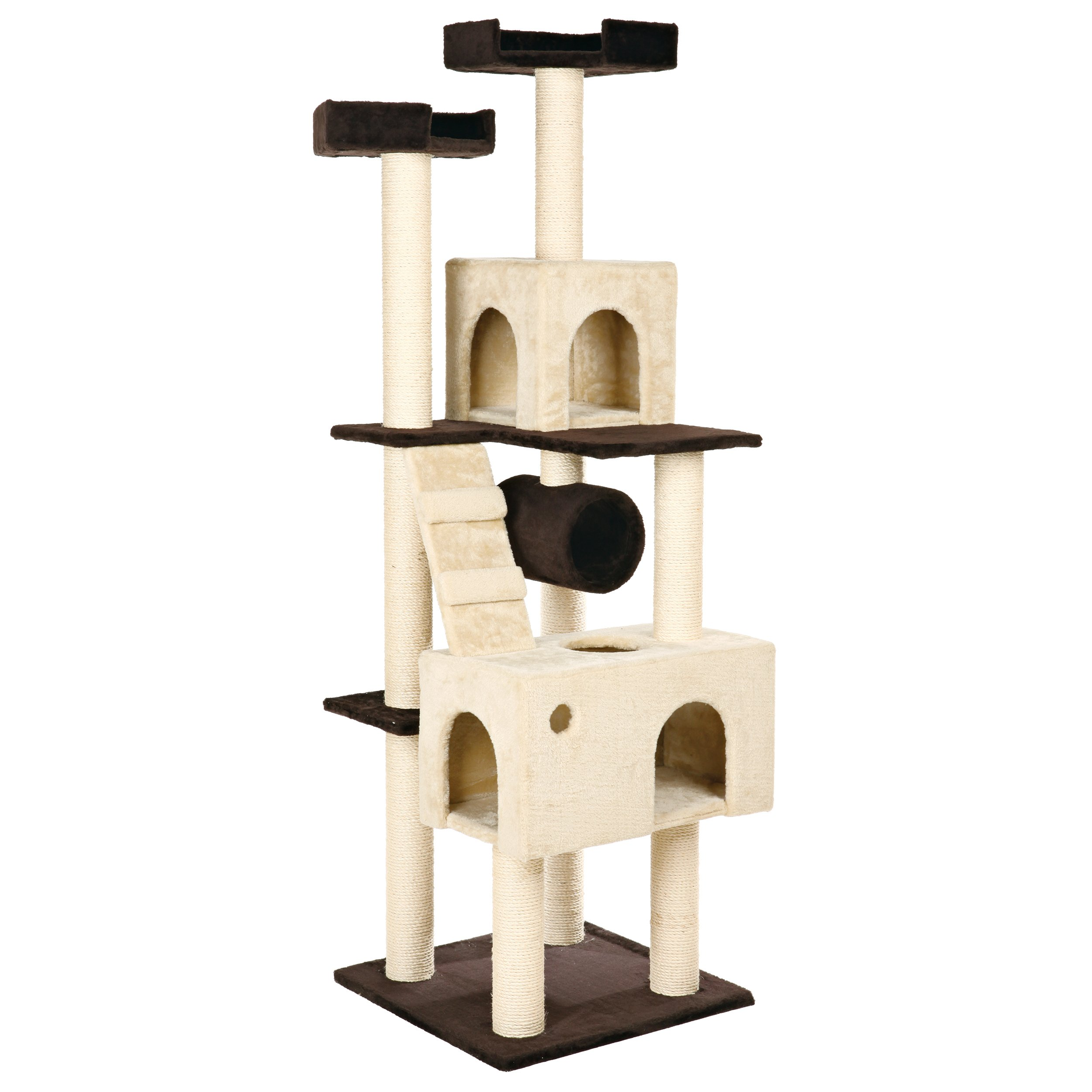 TRIXIE Pet Products Mariela Cat Playground, Beige/Brown