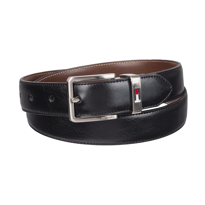 Tommy Hilfiger Boys' Big Reversible Dress Belt, 12TL01XZ05