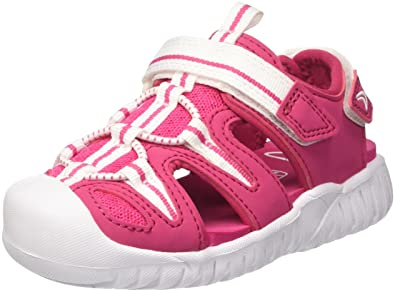 d17b8ebb282f9 Clarks Girls' Rapid Beach Closed Toe Sandals, Red Raspberry, 8.5 UK Child