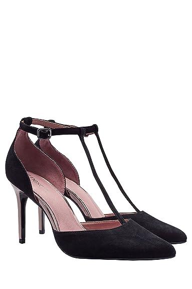 ed92e9b8330 next Escarpins Style Salomé en Daim Femme Regular  Amazon.fr ...