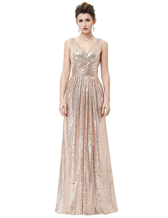 The 8 best gold bridesmaid dresses under 100