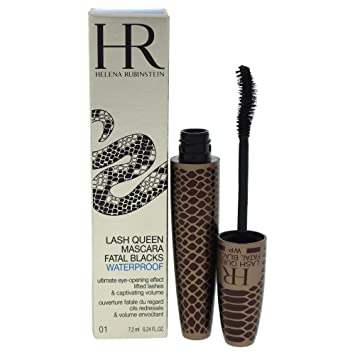 f392770656b Amazon.com : Helena Rubinstein Lash Queen Fatal Blacks Mascara Waterproof,  No. 01 Magnetic Black, 0.24 Ounce : H R : Beauty
