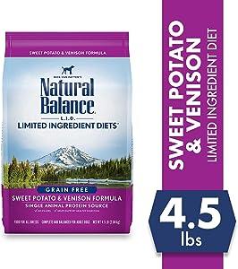 Natural Balance Grain Free Sweet Potato & Venison Dry Dog Food