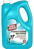 Semplice soluzione Stain e odore di rimozione per i cani, 4 litri