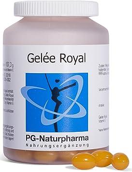 Jalea real, 150 cápsulas con vitamina E, 166,6 mg de jalea real ...