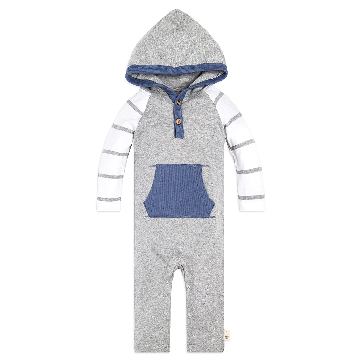 【福袋セール】 Burt's Bees Hooded Baby SLEEPWEAR ユニセックスベビー Bees B07C2GTLYS Heather Hooded Grey Varied Stripe Hooded Coverall 12 Months 12 Months|Heather Grey Varied Stripe Hooded Coverall, コスメティックリリー:b6720752 --- martinemoeykens-com.access.secure-ssl-servers.info