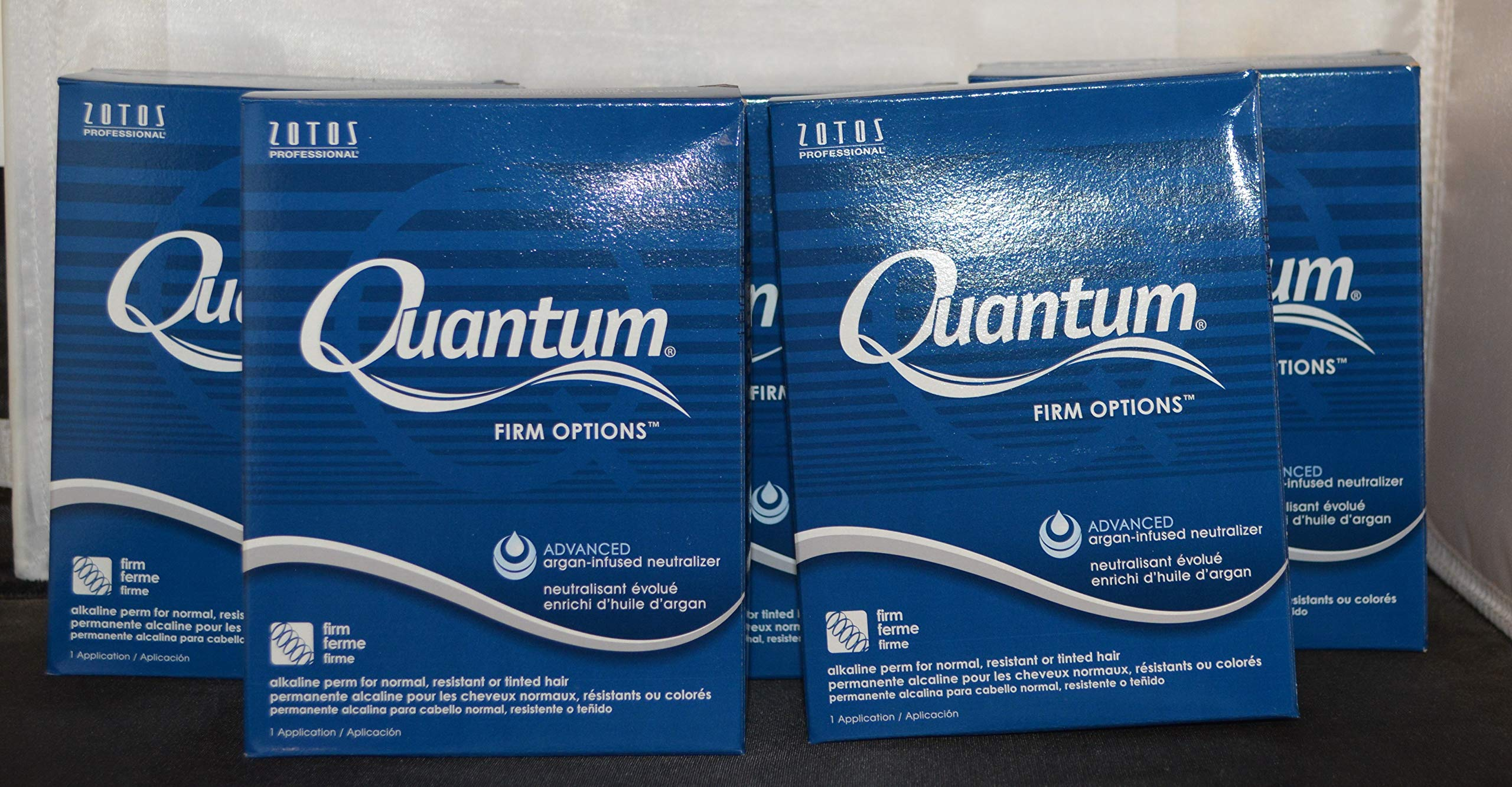 Quantum Firm Options Alakline Perm for Normal or Tinted Hair (5 pack)