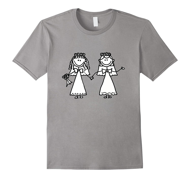 Smiletodaytees Funny Gay Bride Wedding T-shirt