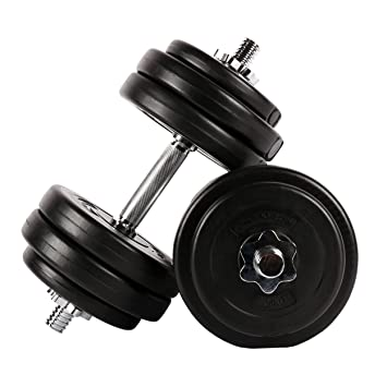 Juego de pesas 30 kg (2 x 15 kg) | Juego de pesas cortas