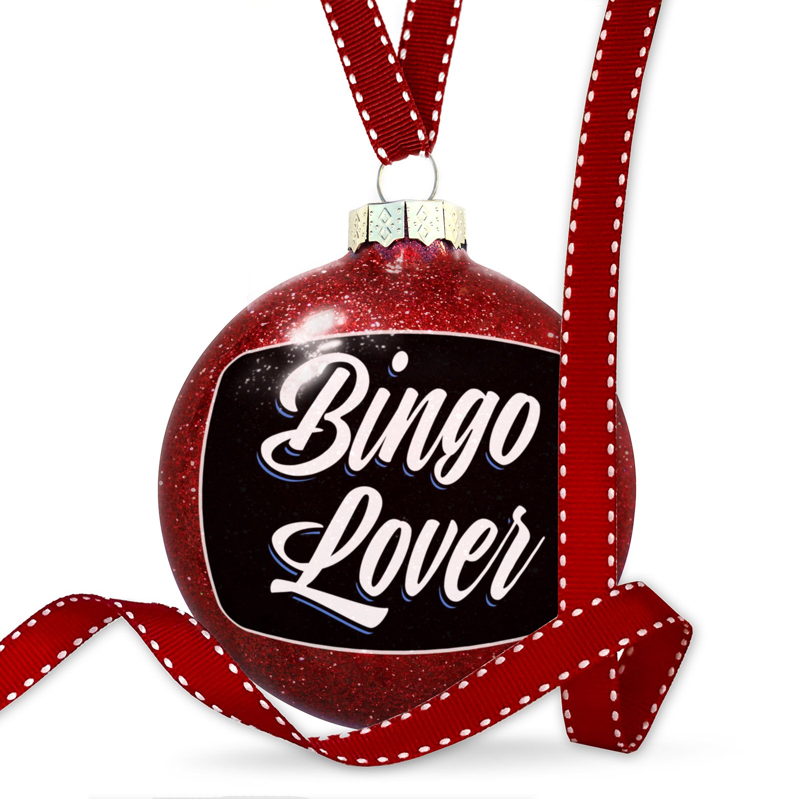 Christmas Decoration Classic design Bingo Lover Ornament by NEONBLOND