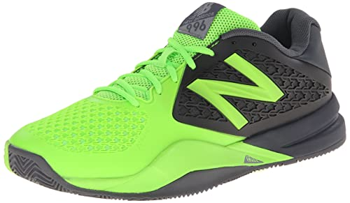 super popular a8c5e 570d9 New Balance Men s MC996 Lightweight Tennis Shoe-M, Grey Green, 14 2E