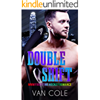 Double Shift: MMM First Time Hockey Romance book cover