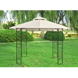Greenbay 3M Pavilion Gazebo Awning Canopy Sun Shade Shelter Marquee Garden Party Tent