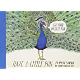 Have a Little Pun: 30 Postcards: (Illustrated Postcards, Book of Witty Postcards, Cute Postcards)
