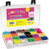 Amazing Loom Bands Complete Collection Organizer Storage Ki + 6,800 Bands +300 Clips a Variety of 12 Beautiful Colors