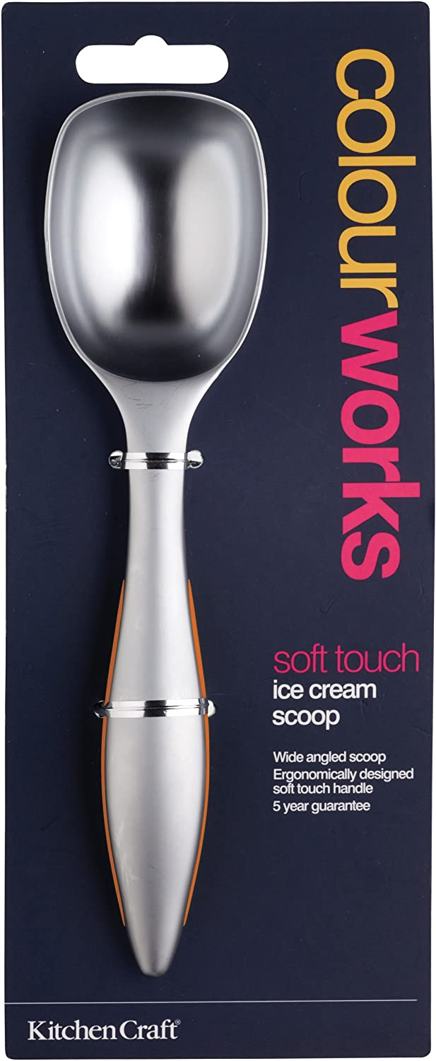 Kitchen Craft Colourworks Orange Ice Cream Scoop